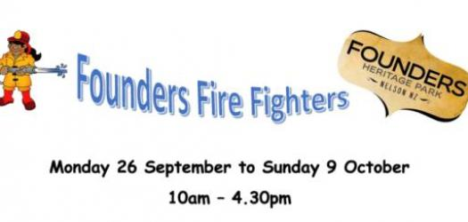 Founders Fire Fighters Website Footer